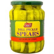 Lieber's dill pickle spears 24 oz