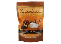 Drizzilicious S'mores Crunchy Drizzle Bites with Rice, Chia, Quinoa & Flax 4 oz