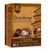 Drizzilicious S'mores Crunchy Drizzle Bites with Rice, Chia, Quinoa & Flax 7.4 oz