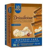 Drizzilicious Birthday Cake Crunchy Drizzle Bites with Rice, Chia, Quinoa & Flax 7.4 oz