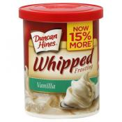 Duncan Hines Whipped Vanilla Frosting 14 oz