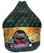 Empire Kosher Frozen Cooked BBQ Turkey - aprx.13 - 15lbs