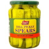 Lieber&#39s dill pickle spears 24 oz