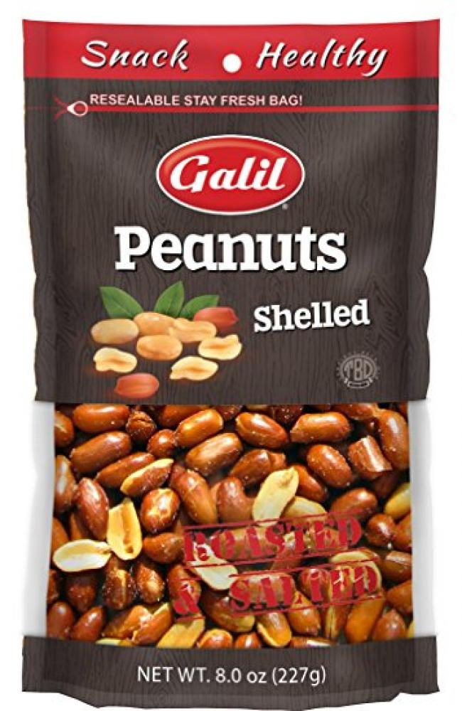Galil peanuts shelled roasted & salted 8 oz