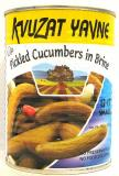 Kvuzat Yavne Pickled Cucumbers In Brine 13-17 Small 19 oz