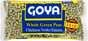 Goya Whole Green Peas 16 oz