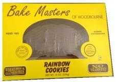 Bake Masters Rainbow Cookies 12 oz