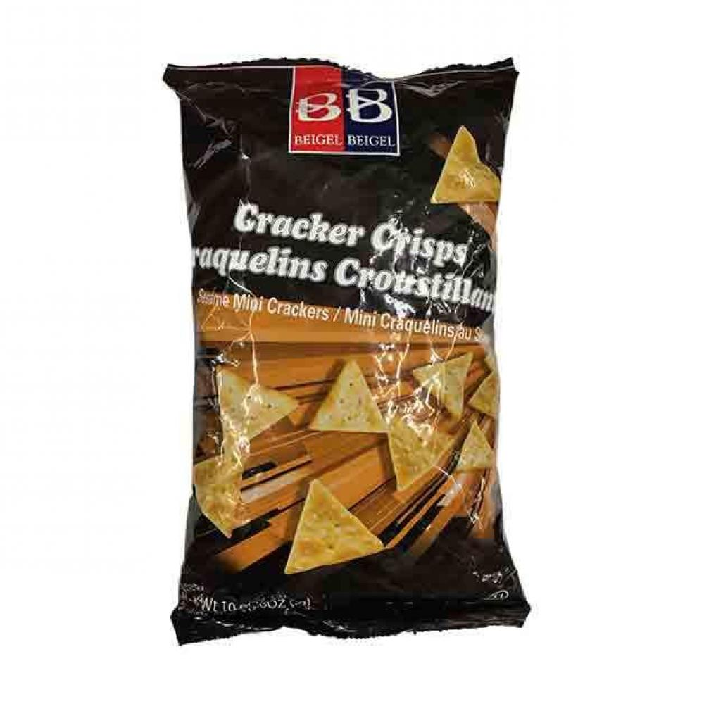 Beigel Beigel Cracker Crisps Mini Sesame 10.6 oz.