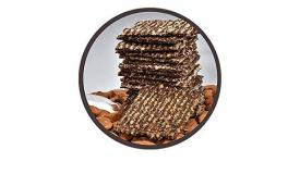 Brooklyn Bites Nutty chocolate Sea Salt Cookie Brittle 6 oz