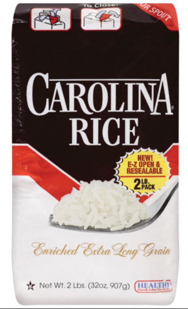 Carolina Enriched Extra Long Grain Rice 2LB.
