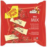 Elite Mini Mix Milk & White Chocolate Bars 14.1 oz 20 ct