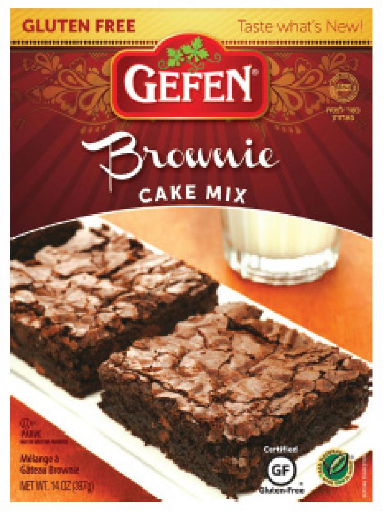 Gefen Brownie Cake Mix 14 oz