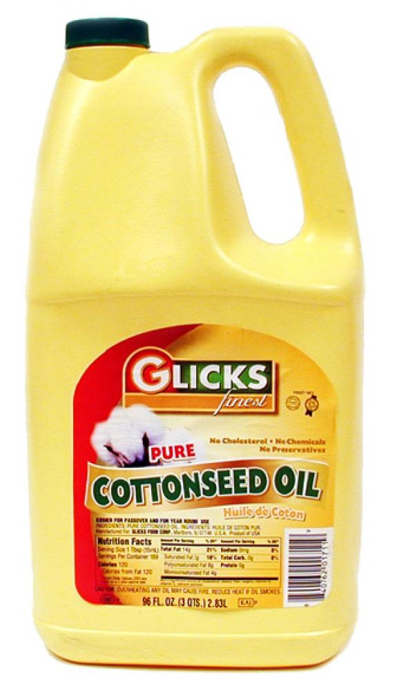Glick's Pure Cottonseed Oil 96 oz