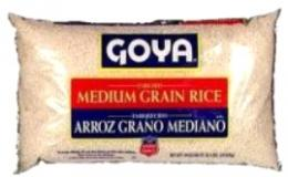 Goya Medium Grain Rice 10 LB