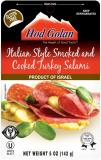 Hod Golon Italian Style Smoked and Cooked Turkey Salami 5 oz