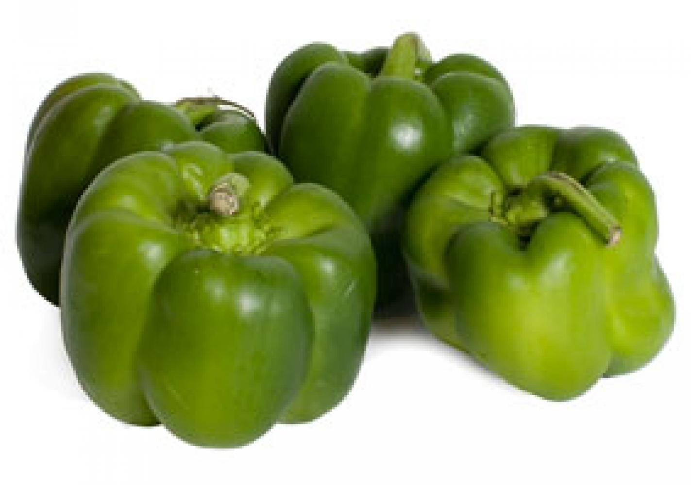 Holland Green Bell Peppers 6 Pack