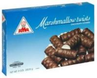 Joyva Chocolate Covered Marshmallows Vanilla Twist 9 oz