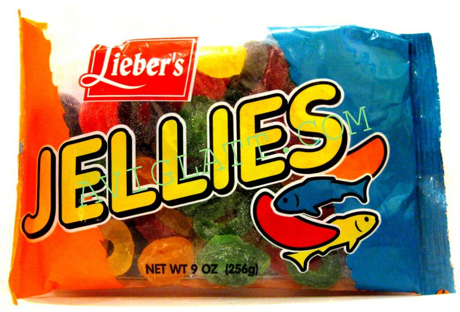 Lieber's Jellies Rings 9 oz