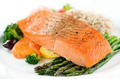Baked Salmon with One Free Side Dish