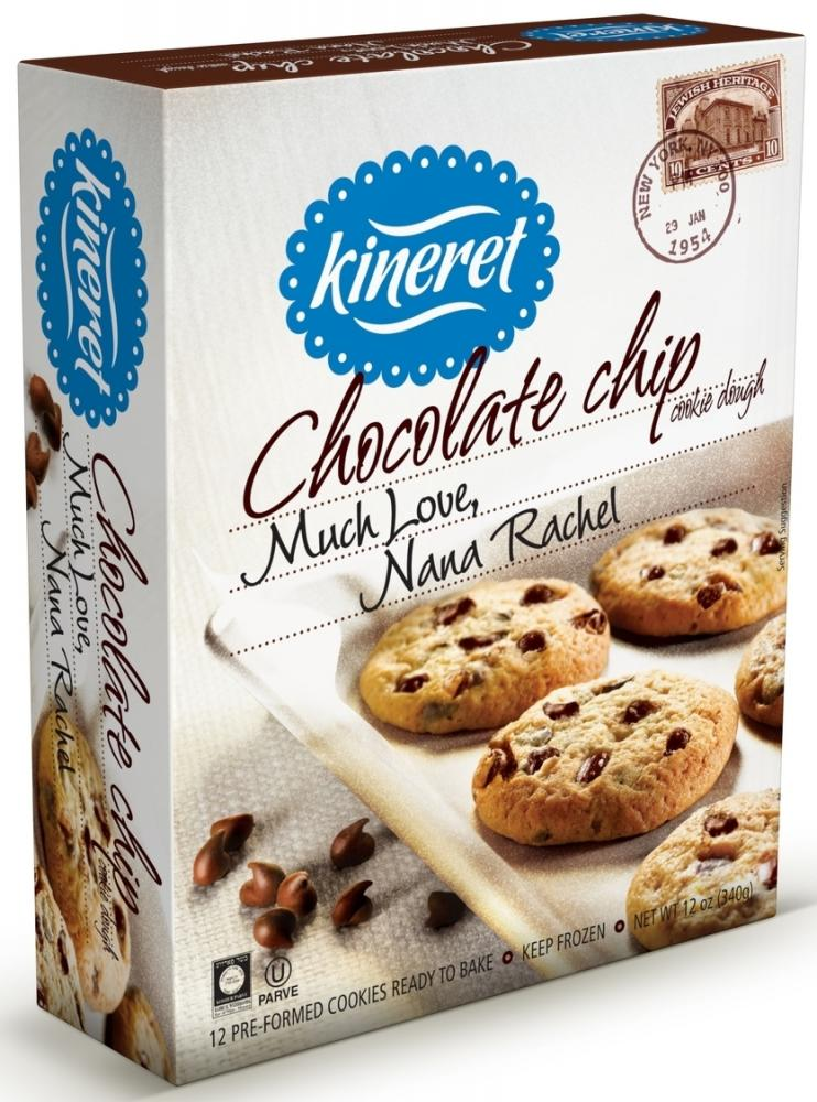Kineret Chocolate Chip Cookie Dough 12 oz