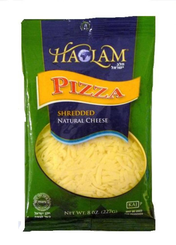 Haolam Pizza Shredded Natural Cheese 8 oz