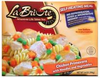Labriute Chicken Primavera with Noodles and Vegetables 14 oz