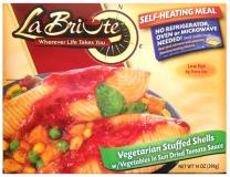 Labriute Vegetarian Stuffed Shells with Vegetables in Sun Dried Tomato Sauce 14 oz