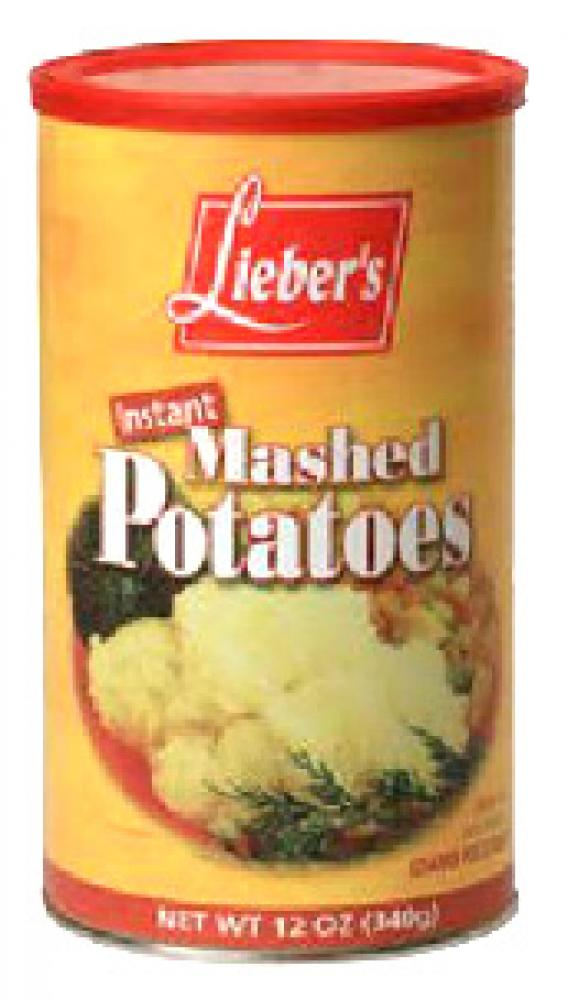 Lieber's Instant Mashed Potatoes 10 oz