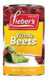 Lieber's whole beets 15 oz