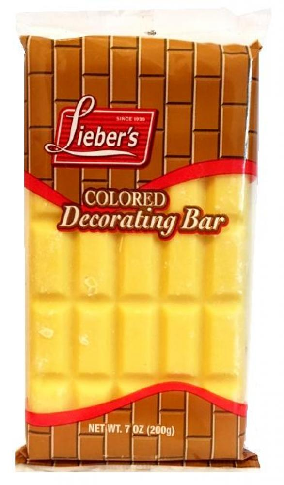 Lieber's Colored Decorating Bar (Yellow) 7 oz