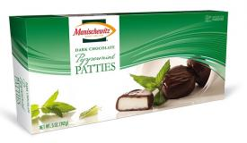 Manischewitz Dark Chocolate Peppermint Patties 5 oz