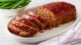 Meat Loaf with Marinara Sauce Serves 10 People