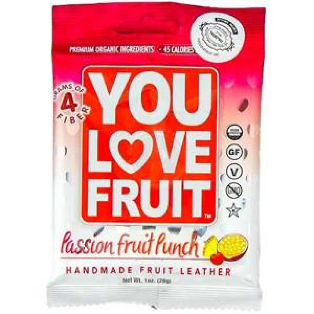You Love Fruit Leather Passion Fruit Punch 1 oz