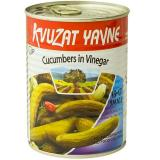Kvuzat yavne large cucumbers in vinegar 7-9 (23 oz)