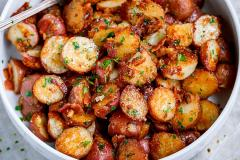 Roasted Red Baby Potatoes Serve 6 to 8 People
