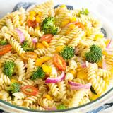 Rotini Pasta with Vegetables Serve 10 People