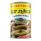 Kvuzat yavne cucumbers in brine large 7-9 13 oz