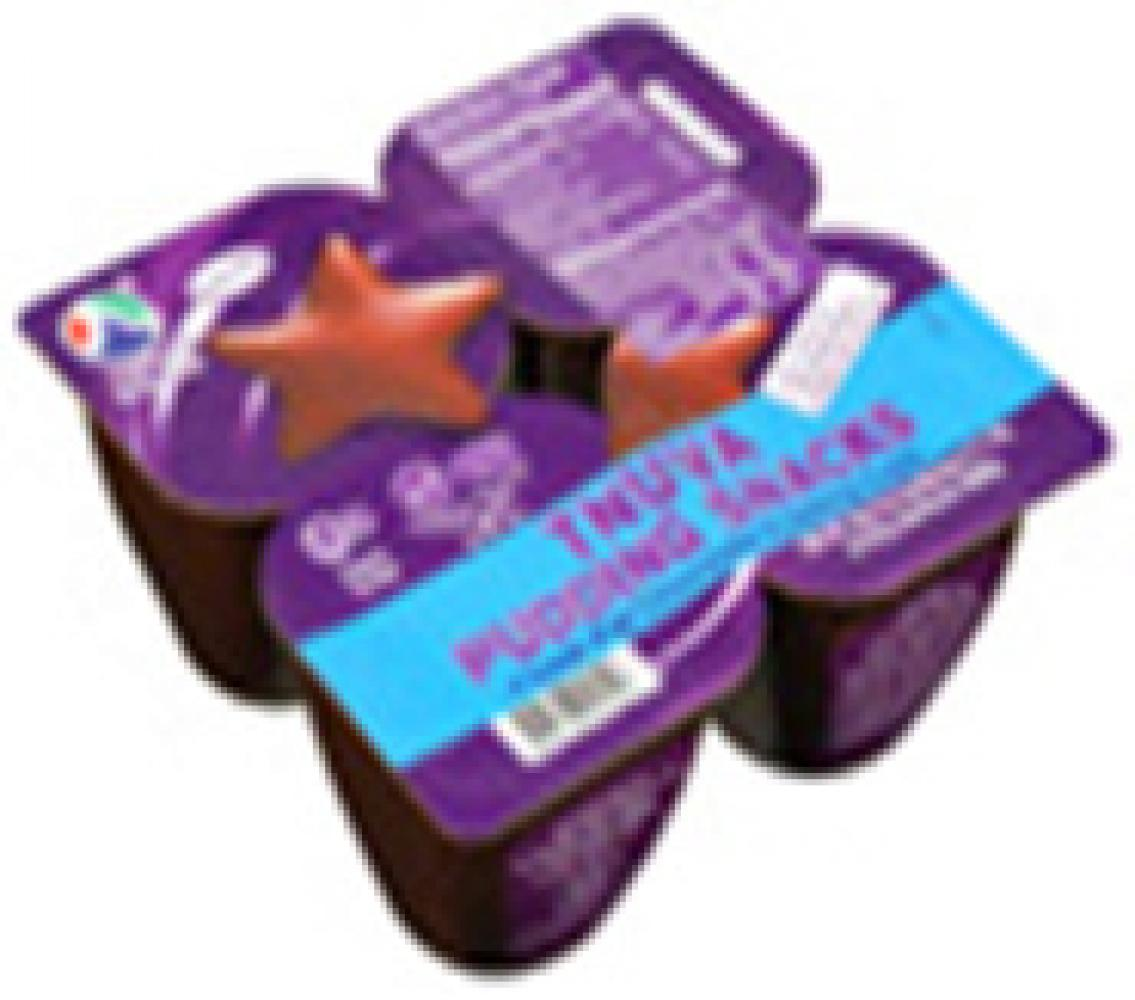 Tnuva Low Fat Chocolate Pudding Snacks 4 Pack