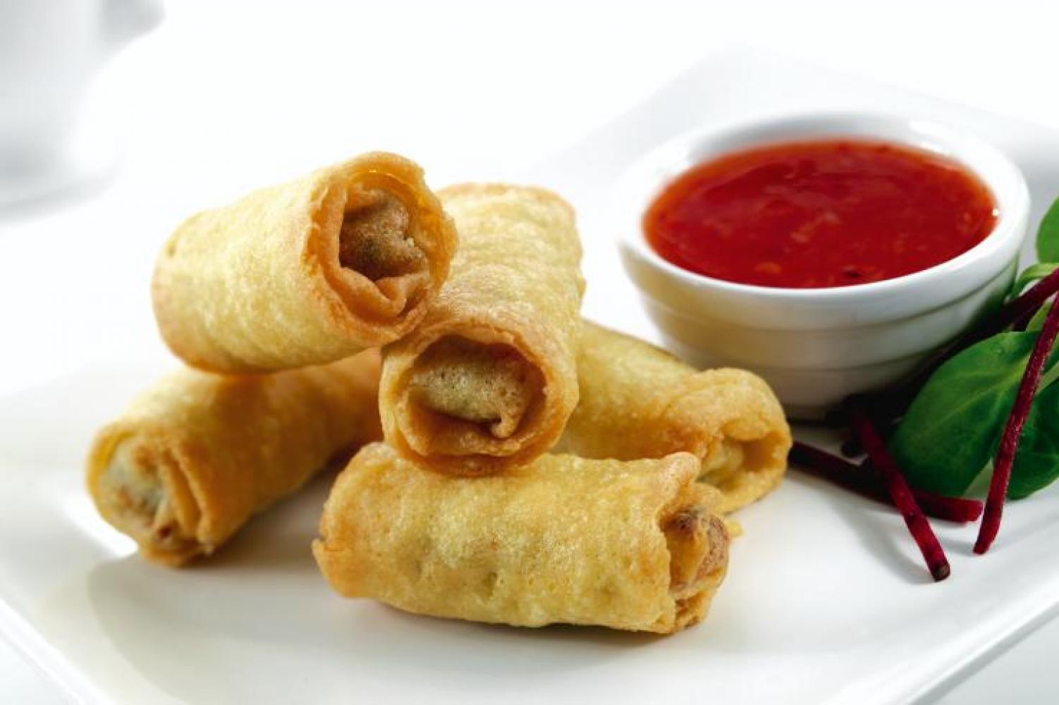 Vegetable Egg Rolls 15 Pcs
