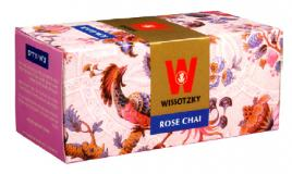 Wissotzky Rose Chai Tea 20 Bags - 1.41 oz