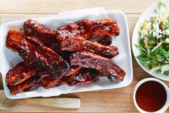 Beef Spare Ribs in BBQ Sauce LB.