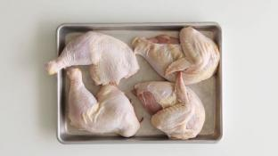 Whole Chicken Cut In 4pcs 3lb Pack