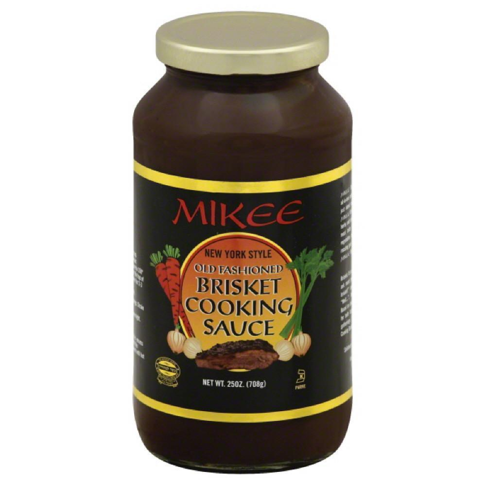 Mikee NY Style Old Fashioned Brisket Cooking Sauce 25 oz