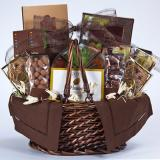 Brown Themed Deluxe Gift Basket