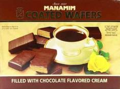 Manamim Coated Wafers Filled With Chocolate Cream 14.1 oz.