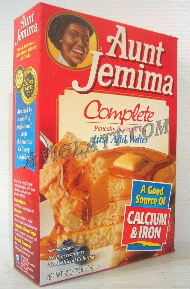 Aunt Jemima Complete Just add Water Pancake and Waffle Mix 32 oz