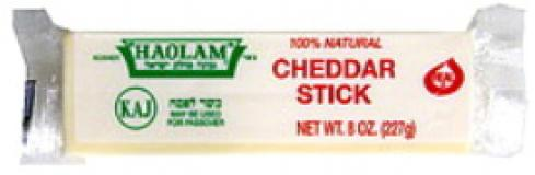 Haolam 100% Natural White Cheddar Stick 8 oz