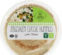 Holy Hummus Jerusalem Classic Hummus with Tahini 16 oz