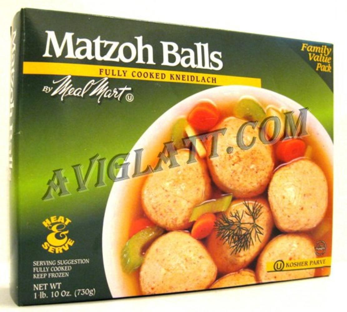 Meal Mart Family Value Pack Matzoh Balls 26 oz