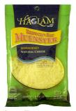 Haolam Reduced Fat Muenster Shredded Natural Cheese 8 oz
